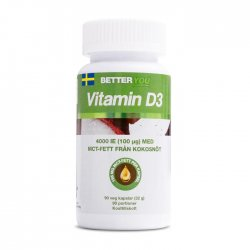 D-vitamin 4000IE - 90 kap